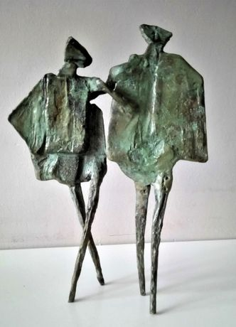 The Dance, Bronze by Neil Wood