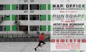 Runscape Berlin - An Artist-run Workshop with Map Office