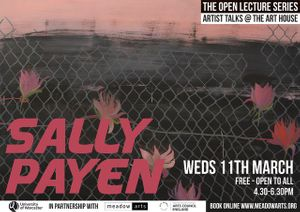 Sally Payen - Open Lecture