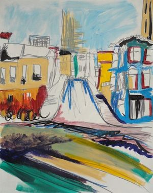 SAN FRANCISCO | paintings by Lou Reade