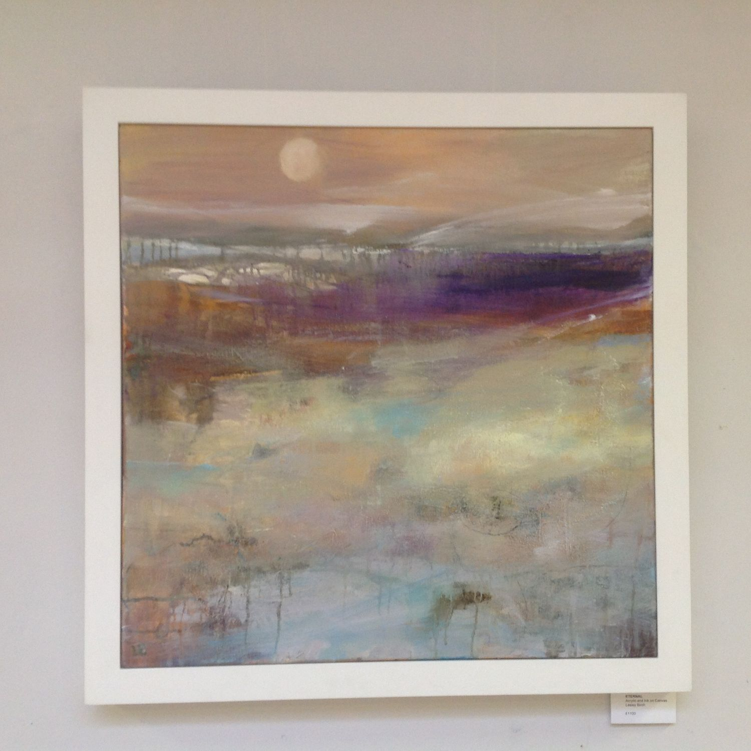 Sand And Water Paintings Lesley Birch Exhibition At