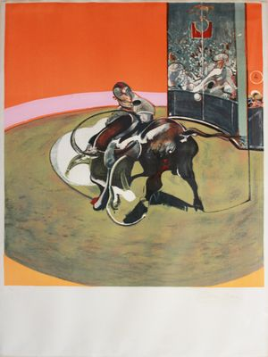 Frances Bacon; Study for a Bullfight, 1971