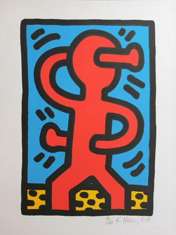 Keith Haring; Untitled, 1988