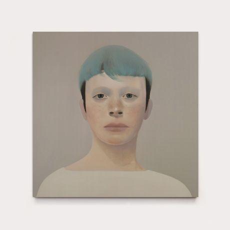 Tim . oil on canvas .100 x 100 cm