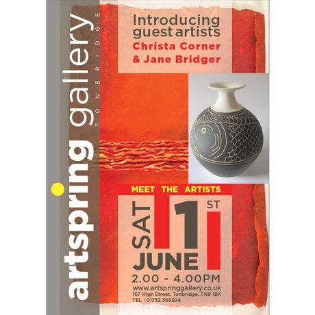 Meet The Artists at ArtSpring Gallery, Tonbridge