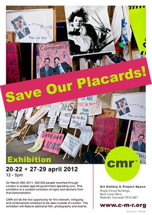 Save Our Placards!