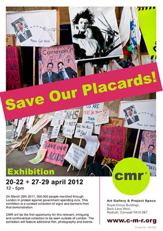 Save Our Placards!: Image 0