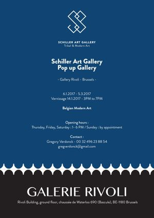 Schiller Art Gallery : Pop-up gallery - Belgian Modern Art