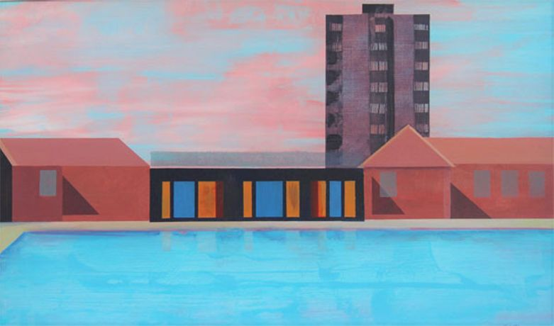 Euan McGregor London Fields, Lido
