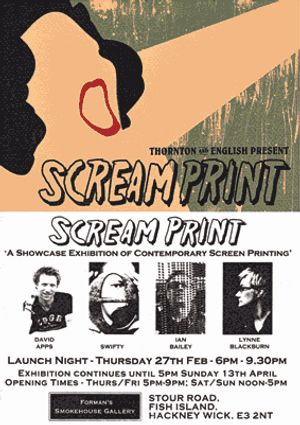 Scream Print - A Showcase Exhibition of contemporary screen printing