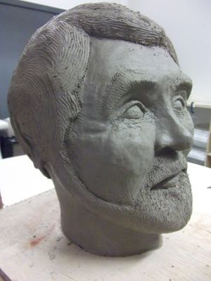 Sculptural Portraiture with artists Kevin Andrew Morris and Alys Owen