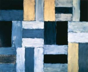 Sean Scully. Wall of Light Cubed