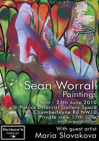 SEAN WORRALL - RECENT PAINTINGS.: Image 0