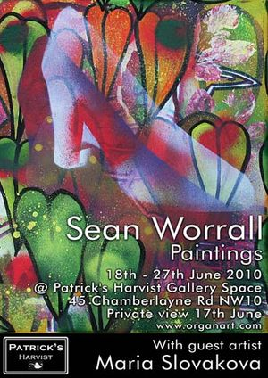 SEAN WORRALL - RECENT PAINTINGS.