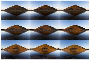 One of a million sunrises, Silbury Hill by Richard Draper