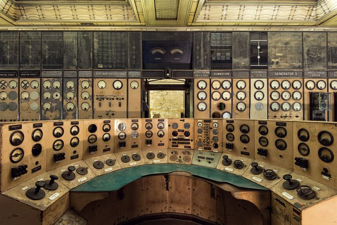 Battersea Power Station Control Room / Gina Soden