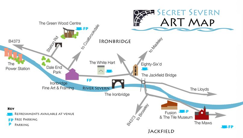 Map of Art Trail