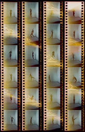 Dance as language, Zoe Forster (Eight 6x4 photographs and one 6x4 print of the contact sheet)