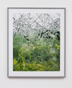 FRANK THIEL Untitled (NSA Field Station, Berlin, Teufelsberg #14), 2005 framed chromogenic print face mounted to Plexiglas framed: 85 x 71 1/2 x 2 3/8 inches (216 x 181.5 x 6 cm) edition of 5 with 2 APs (#1/5) titled, dated, signed and numbered on verso FT-NSA14.L.1