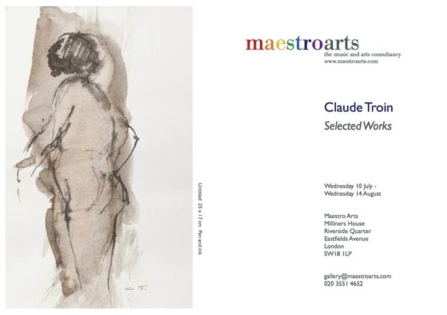Selected Works - Claude Troin: Image 0
