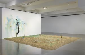 Senga Nengudi Installation view, Sprüth Magers, Los Angeles, August 18–October 2, 2020 Photo: Robert Wedemeyer