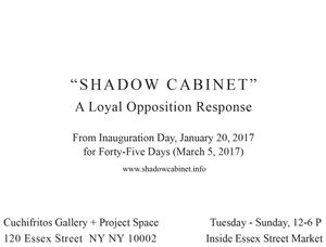 Shadow Cabinet, Promotional Image, January 2017.