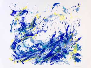 Shapes of Water - Print Works & Works on Paper