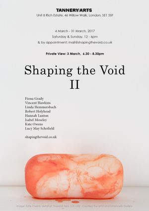 Shaping the Void, II