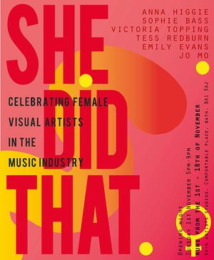 SHE DID THAT - Celebrating Female Visual Artists in the Music industry