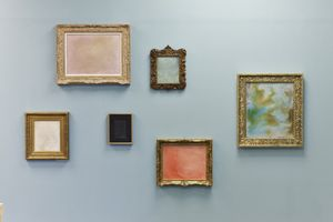MEEKYOUNG SHIN | Translation - Painting Series | Soap | Installation View | 2014 | Image courtesy of the artist