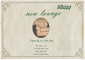 Shunt-New Lounge: the opening