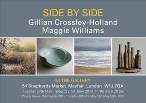 SIDE BY SIDE - Gillian Crossley-Holland & Maggie Williams