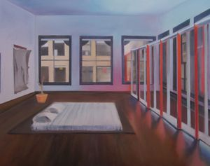 Donald Judd's Bedroom, 101 Spring Street, New York - Alexandra Baraitser