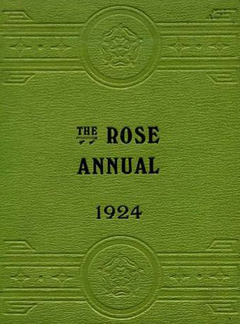 Simon Morley: The Rose Annual, 1924: Image 0