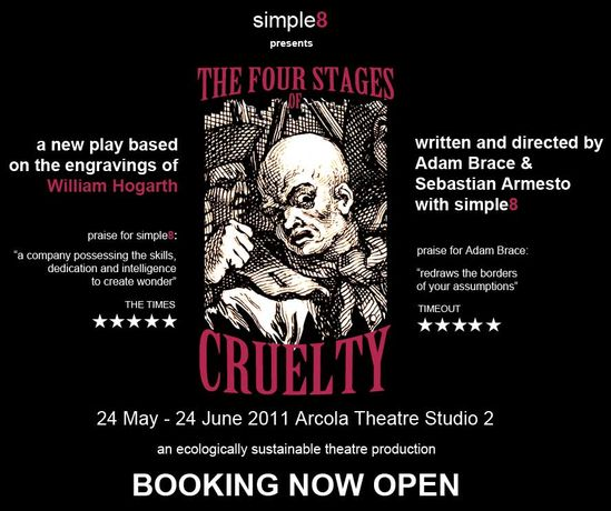 simple8 presents ' The Four Stages of Cruelty': Image 0