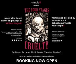 simple8 presents ' The Four Stages of Cruelty'