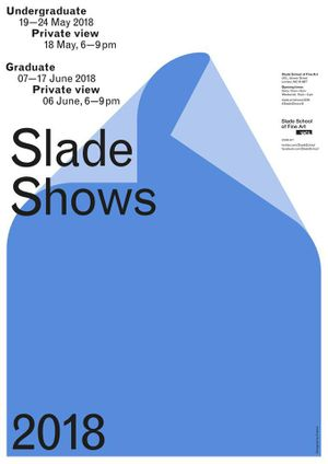 Slade School of Fine Art MA/MFA/PHD Degree Show