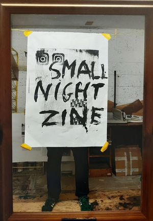 small night zine—ARRANGEMENTS