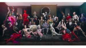 Soho Tableaux by Damien Frost