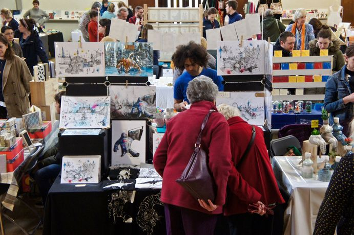 SoLo Craft Fair: Dulwich Christmas Market: Image 1