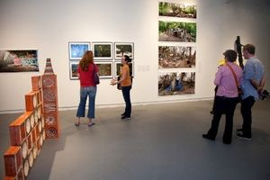 Installation view of Sondheim Artscape Prize exhibition 2012.