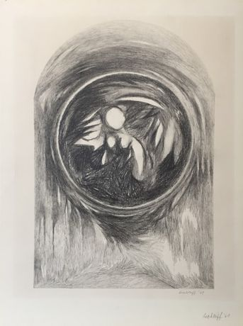 Untitled 1964 Graphite on Paper 15 x 11 inches
