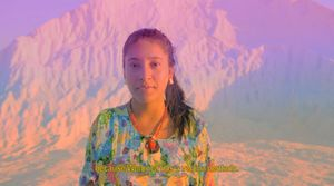 Sophia Al-Maria, Wayuu Creation Myth, 2018. Video still. Courtesy Sophia Al-Maria