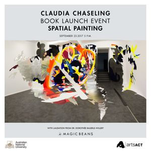 Spatial Painting: Book Launch Event