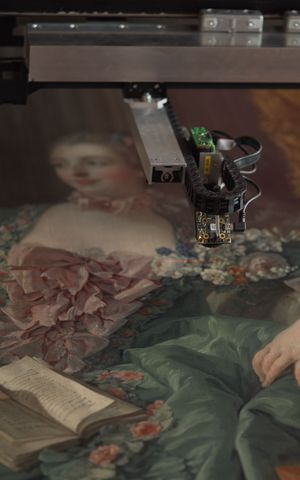 Capturing Madame de Pompadour in 3D
