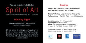 Spirit Of Art Exhibition