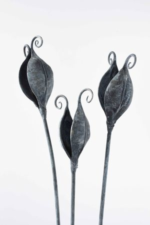 Forged and galvanised Garden Pods