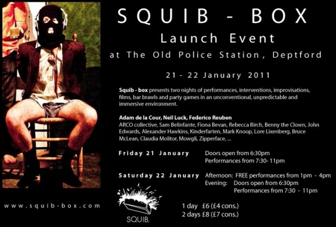 SQUIB-BOX LAUNCH: Image 0
