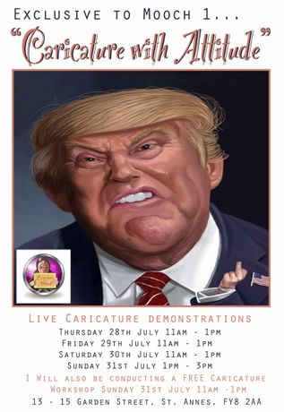 Chris Knapman's Caricature Demonstrations