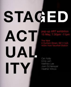 STAGED ACT UAL ITY